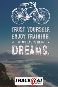 achieve your dreams bike blog graphic